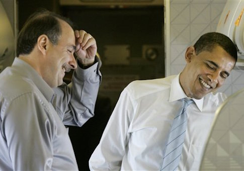 Barack Obama, David Axelrod / AP