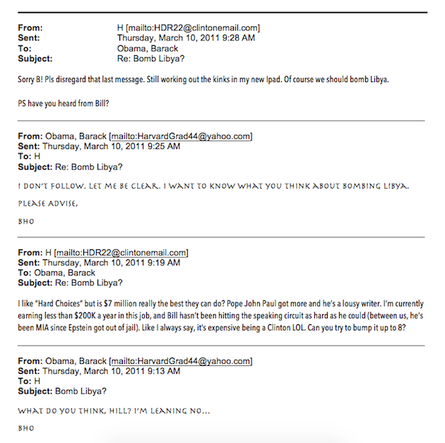Report: In Email Correspondence, Hillary Clinton Mixed Business ...