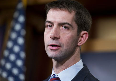 Sen. Tom Cotton (R., Ark.) / AP