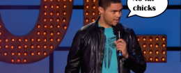 Your new host of the Daily Show, Trevor Noah!