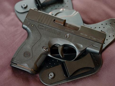 Unholstered Gun