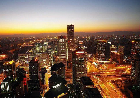 The central business district in Beijing / Wikimedia Commons
