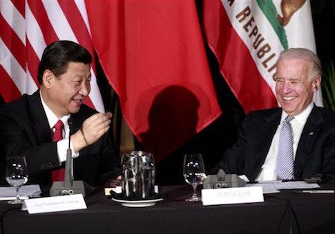 Xi Jinping, Joe Biden