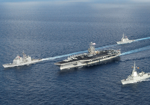 USS Theodore Roosevelt Carrier Strike Group