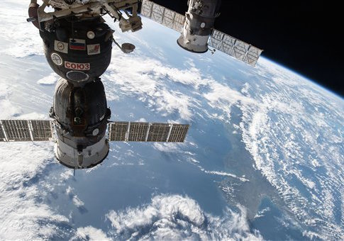 International Space Station cargo spacecraft - Apr 2015