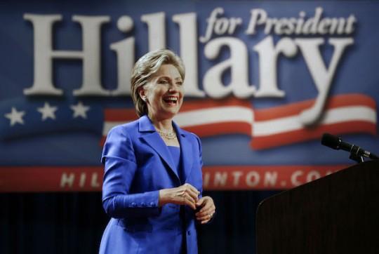 Failed candidate Hillary Clinton. (AP)