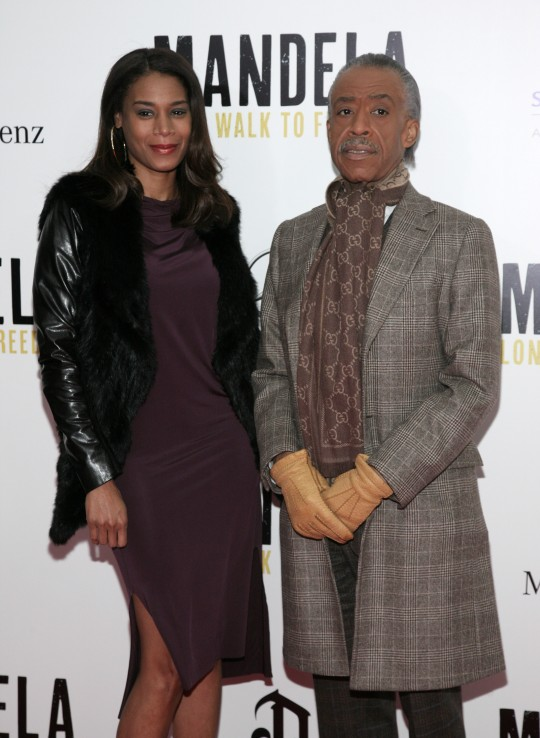 Dominique Sharpton and Al Sharpton / AP