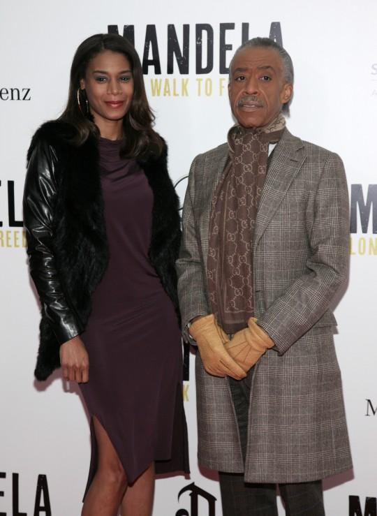 Dominique Sharpton and Al Sharpton / AP