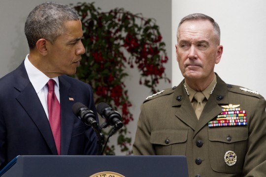 Barack Obama, Joseph Dunford