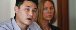 Detained student Daniel Chong / AP