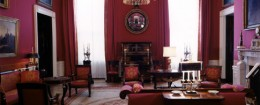 The White House's Red Room / Wikimedia Commons