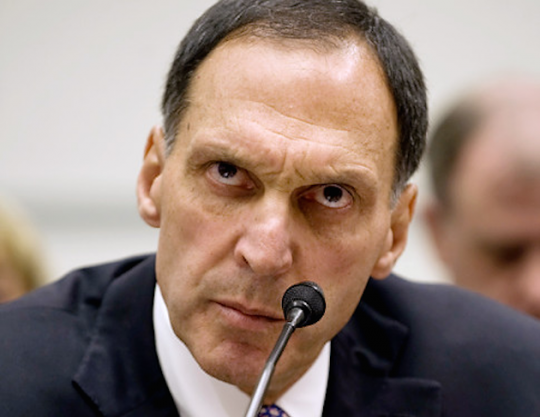Democratic donor Dick Fuld.