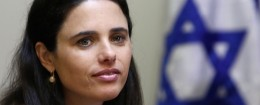 Ayalet Shaked /GALI TIBBON/AFP/Getty Images