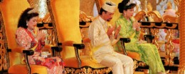 Hassanal Bolkiah, the Sultan of Brunei / AP