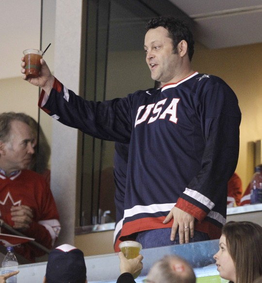 He loves America and a stiff drink too / AP