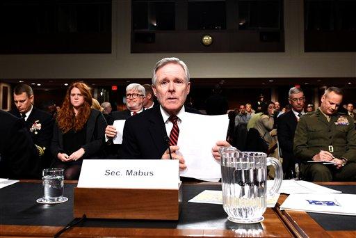 Navy Secretary Ray Mabus / AP