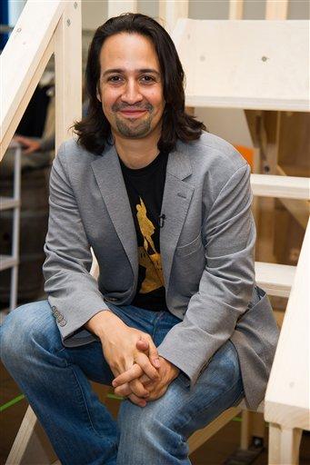 Lin-Manuel Miranda, director of 'HAMILTON' the musical / AP