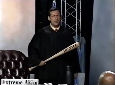 Akim Anastopoulo as Extreme Akim on UPN's Eye for an Eye