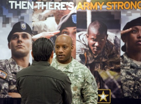 Army Recruiter / AP