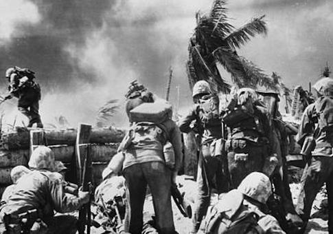 U.S. Marines at Tarawa