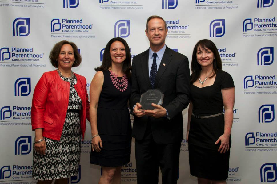 Martin O'Malley receives award