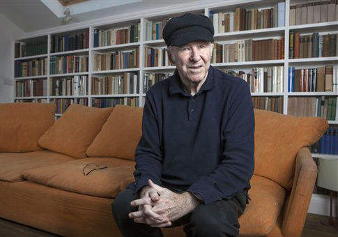 Clive James at his home in Cambridge / AP