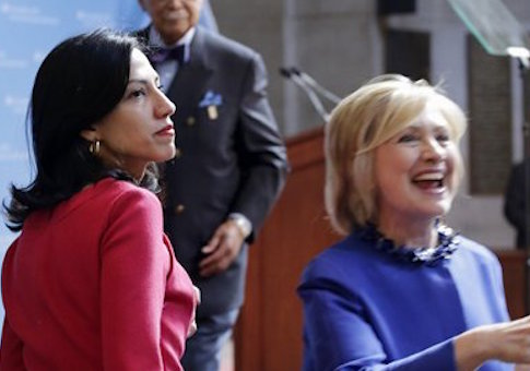 http://freebeacon.com/wp-content/uploads/2015/08/Huma-Abedin-and-Hillary-Clinton.jpg