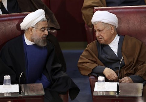 Hassan Rouhani, Akbar Hashemi Rafsanjani