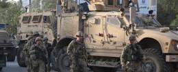 U.S. soldiers in Kabul, Afghanistan