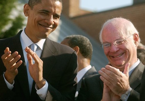 Ben Cardin and Barack Obama