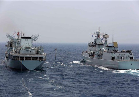 Chinese ships in 2013