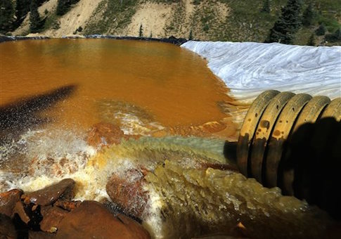 Mine Waste Spill Colorado Animus River