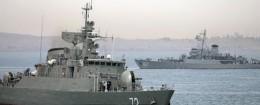 Iranian warship / AP