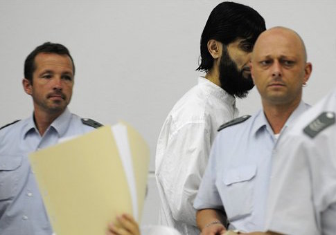 Rafik Mohamad Yousef appears in court in Germany
