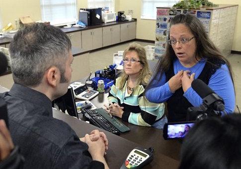 Rowan County Clerk Kim Davis