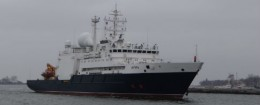 The Russian research ship Yantar