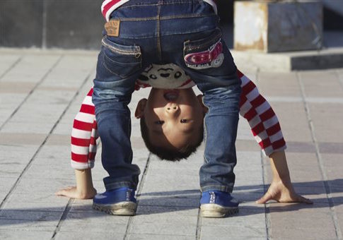A child in China