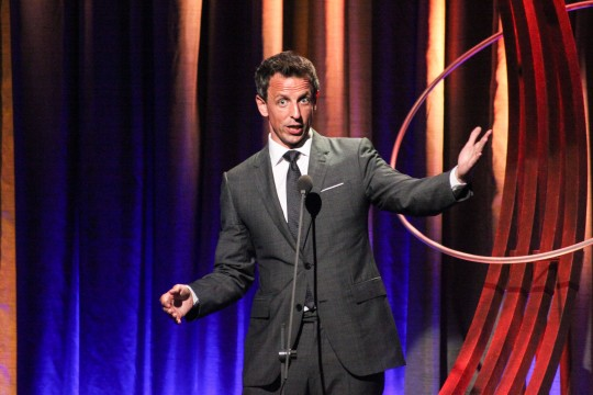 Seth Meyers 8th Annual Clinton Global Citizen Awards, New York, America - 21 Sep 2014   (Rex Features via AP Images)