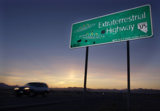 A highway near Area 51 / AP