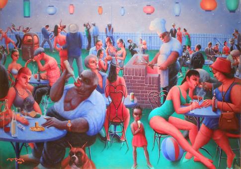 'Barbecue' by Archibald Motley