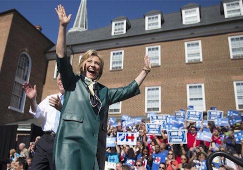 Hillary Rodham Clinton, Terry McAuliffe