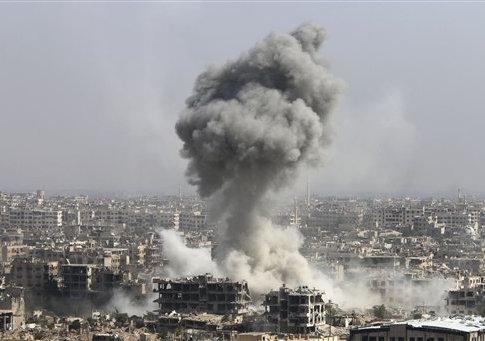 Russia Syria airstrike
