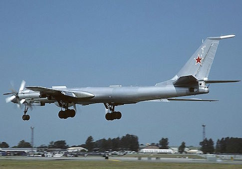Russian Tu-142 Wikimedia Commons