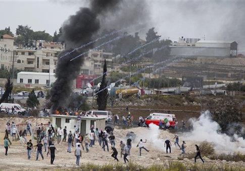 West Bank violence