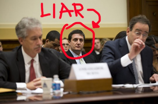 Philippe Reines, lying snitch. (AP)