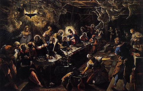 Tintoretto, The Last Supper, 1592-94 / Wikimedia Commons