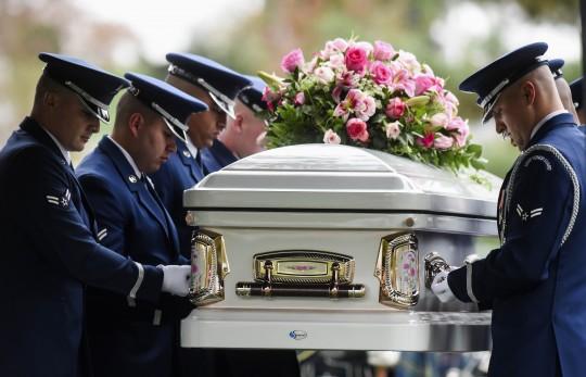 O'Hara's casket / AP