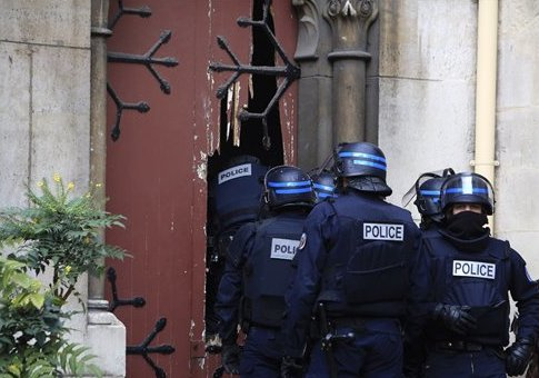 French police officers in November / AP