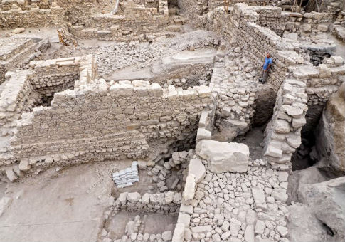 Site of the Acra excavation / Israel Antiquities Authority