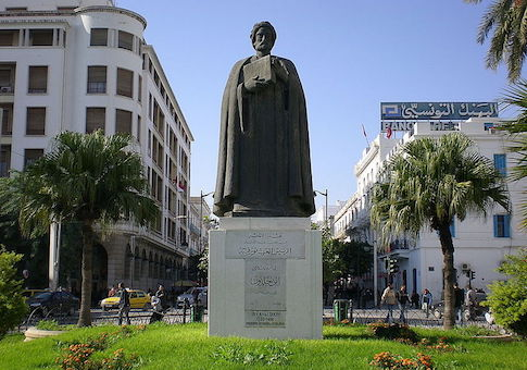 Statue of Ibn Khaldun in Tunisia / Wikimedia Commons